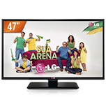 TV LED com Painel IPS 47 ´ Full HD 2 HDMI Conversor Digital 47LN5460 LG - Cod. 38313